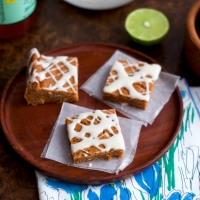 Honey Lime Cookie Bars