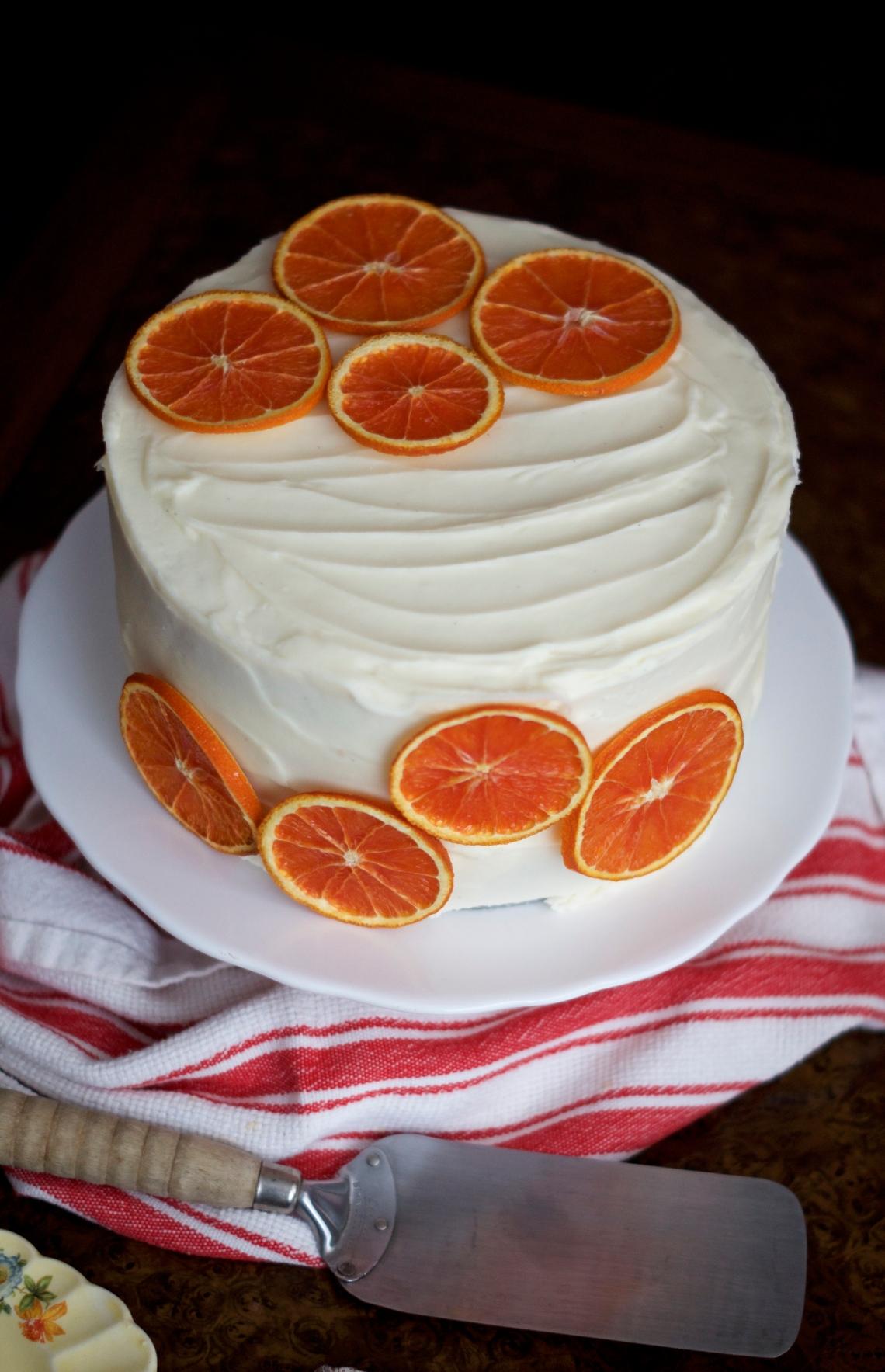 Midwest Orange Cake Recipe