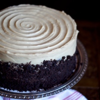Chocolate Coffee Stout Cake