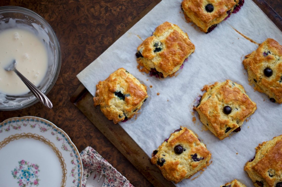 Wildcat Scones | via Midwest Nice Blog