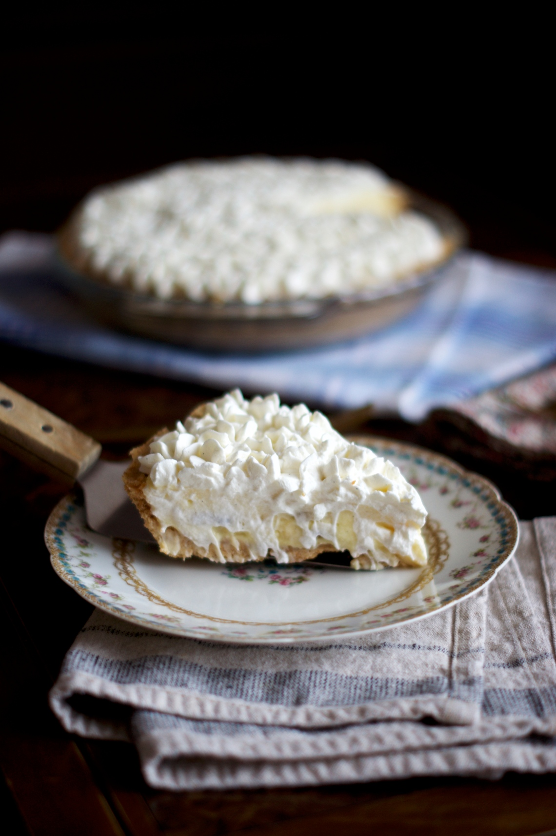 Banana Cream Pie | via Midwest Nice Blog