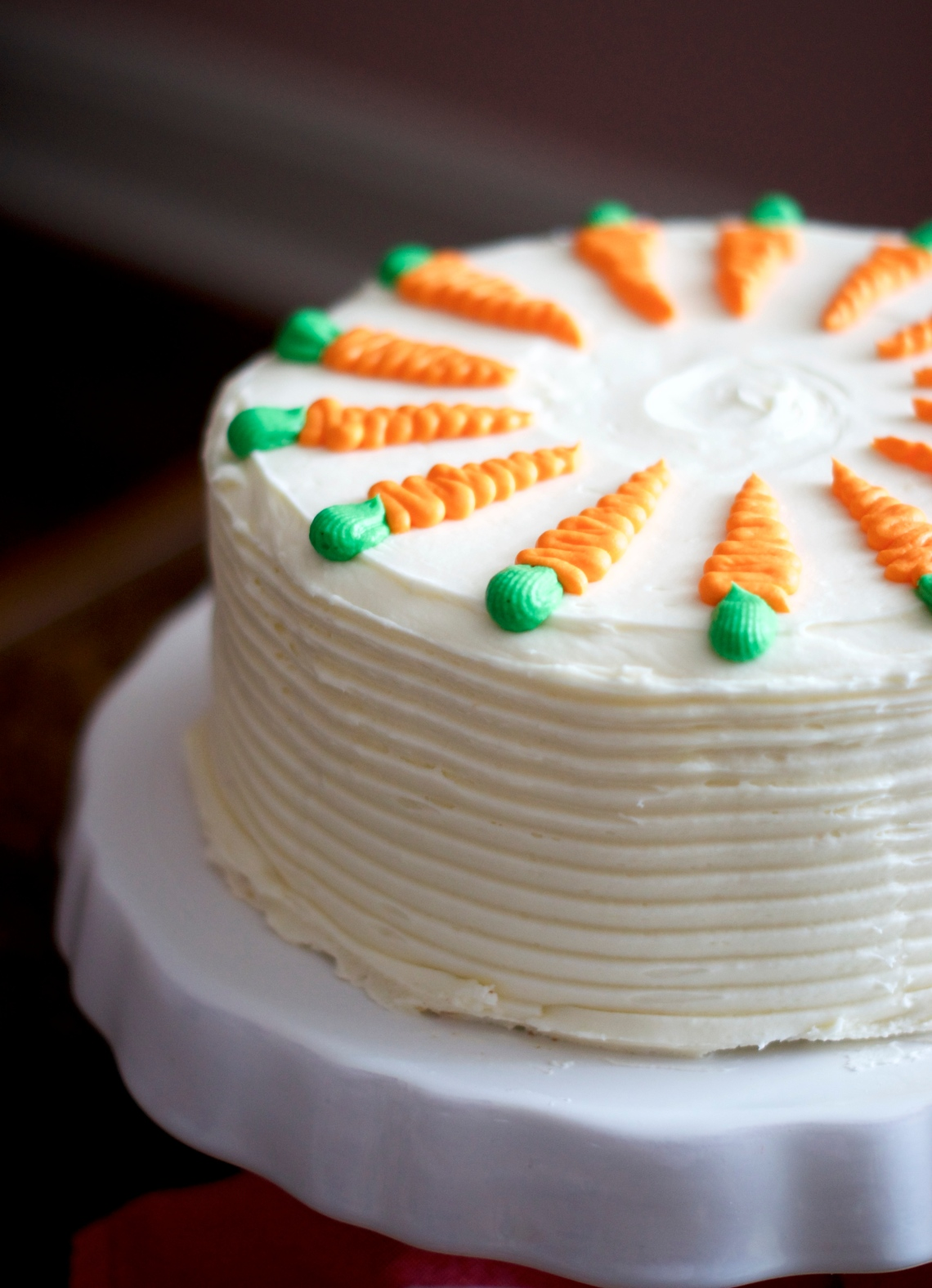Classic Carrot Cake | via Midwest Nice Blog