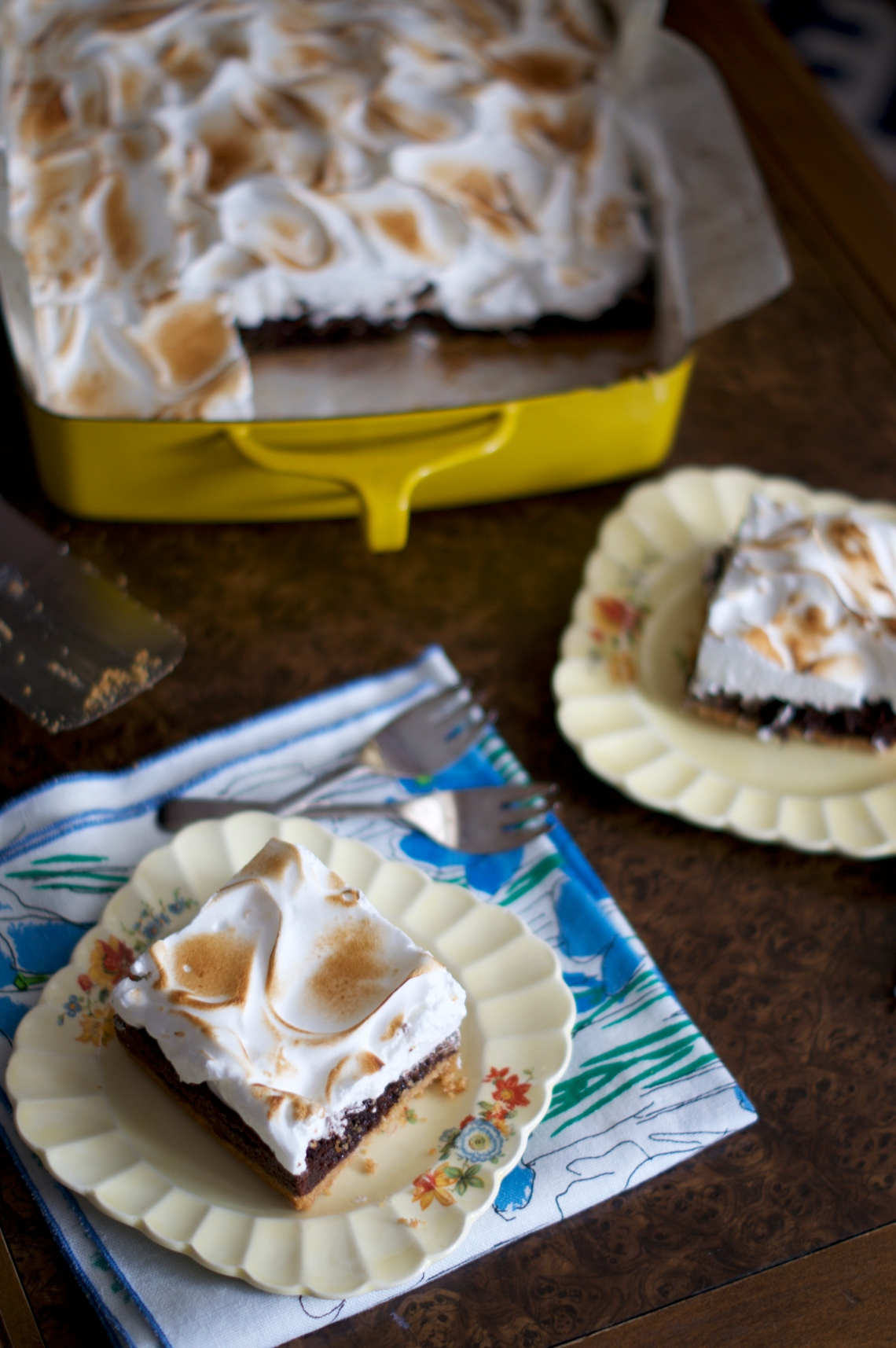 S'mores Brownies Sneak Peek | via Midwest Nice Blog