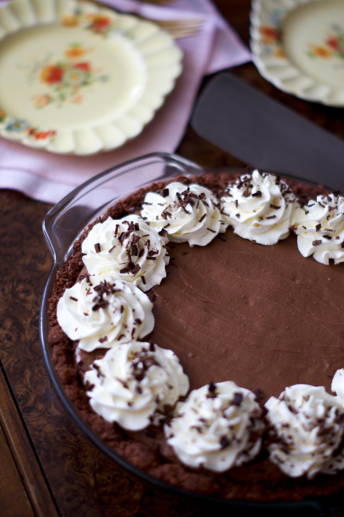 Mississippi Mud Pie | via Midwest Nice Blog
