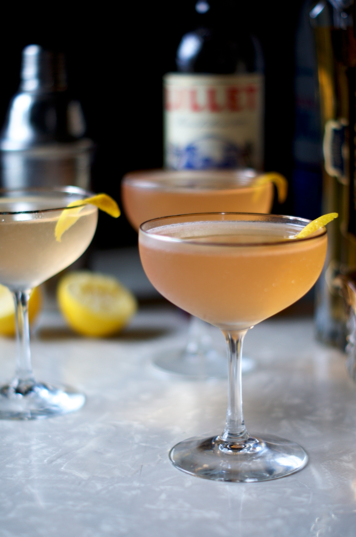 The Lillet Rosé Martini via Midwest Nice Blog