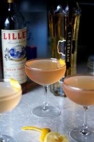 Lillet Rosé Martini via Midwest Nice Blog