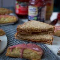 PB&J Scones, Two Ways (& preferences)