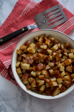 Mustard Roasted Red Potatoes