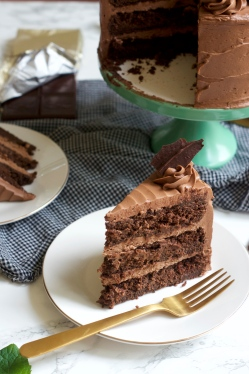 Double Chocolate Mint Cake