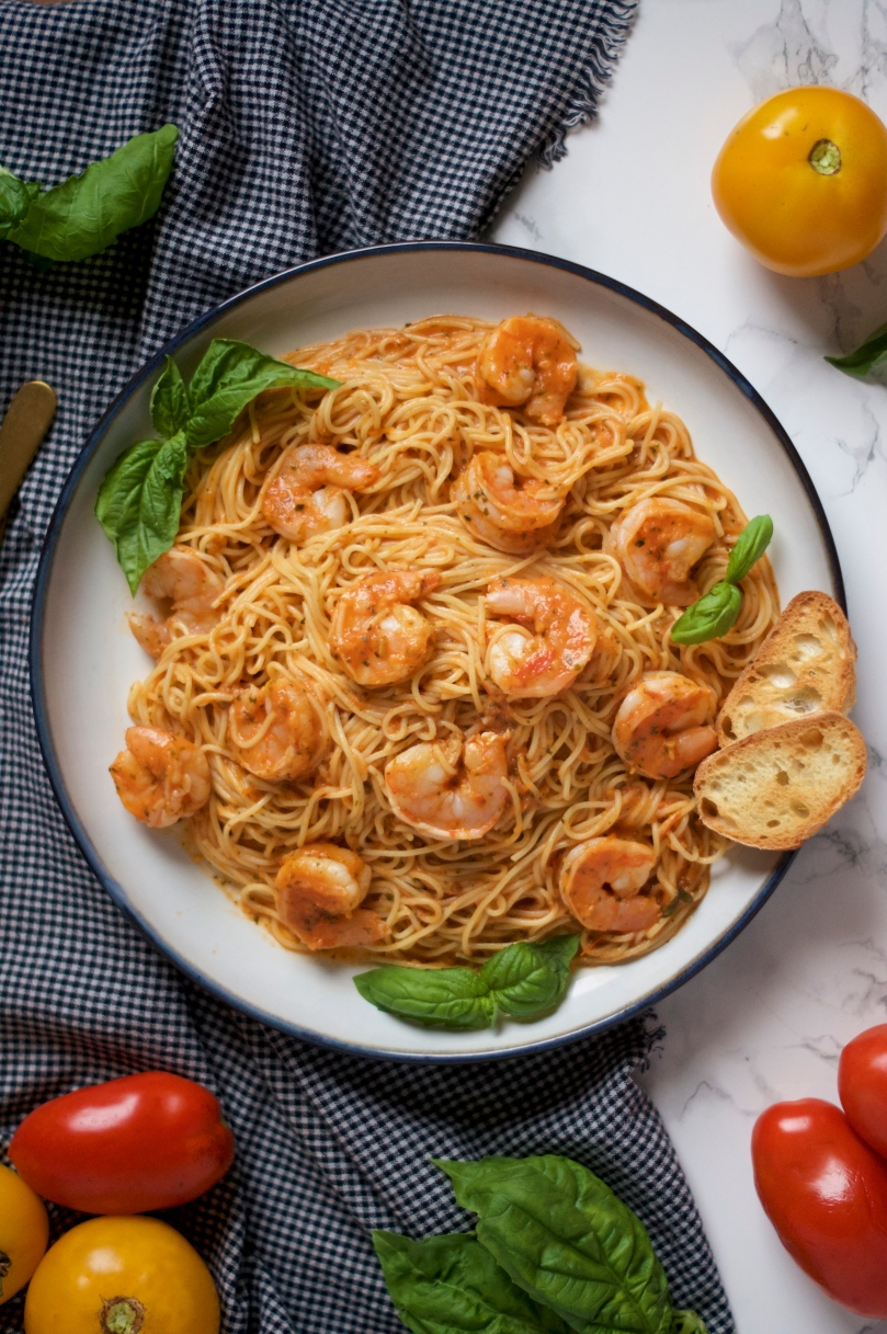 Spicy Shrimp Pasta