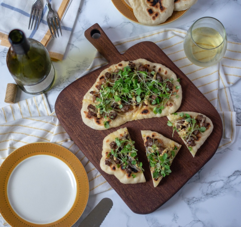 Local Lamb Flatbread
