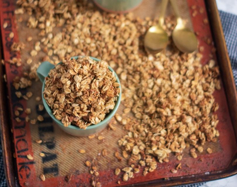 Maple & Vanilla Bean Granola