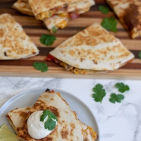 Breakfast Quesadillas (& a new job)